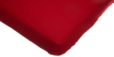 Baby Mattress 51in Red Cover