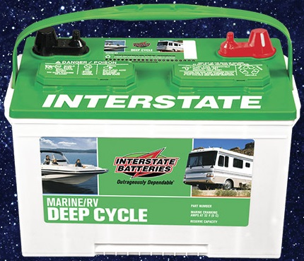 Battery 12V Interstate Deep Cycle