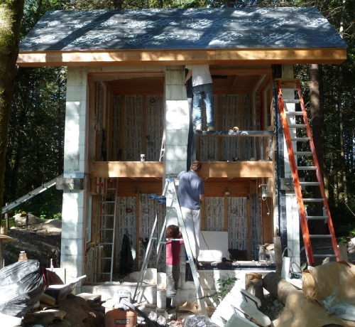 Big window openings with three working