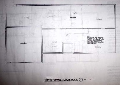 Blueprint example crawlspace