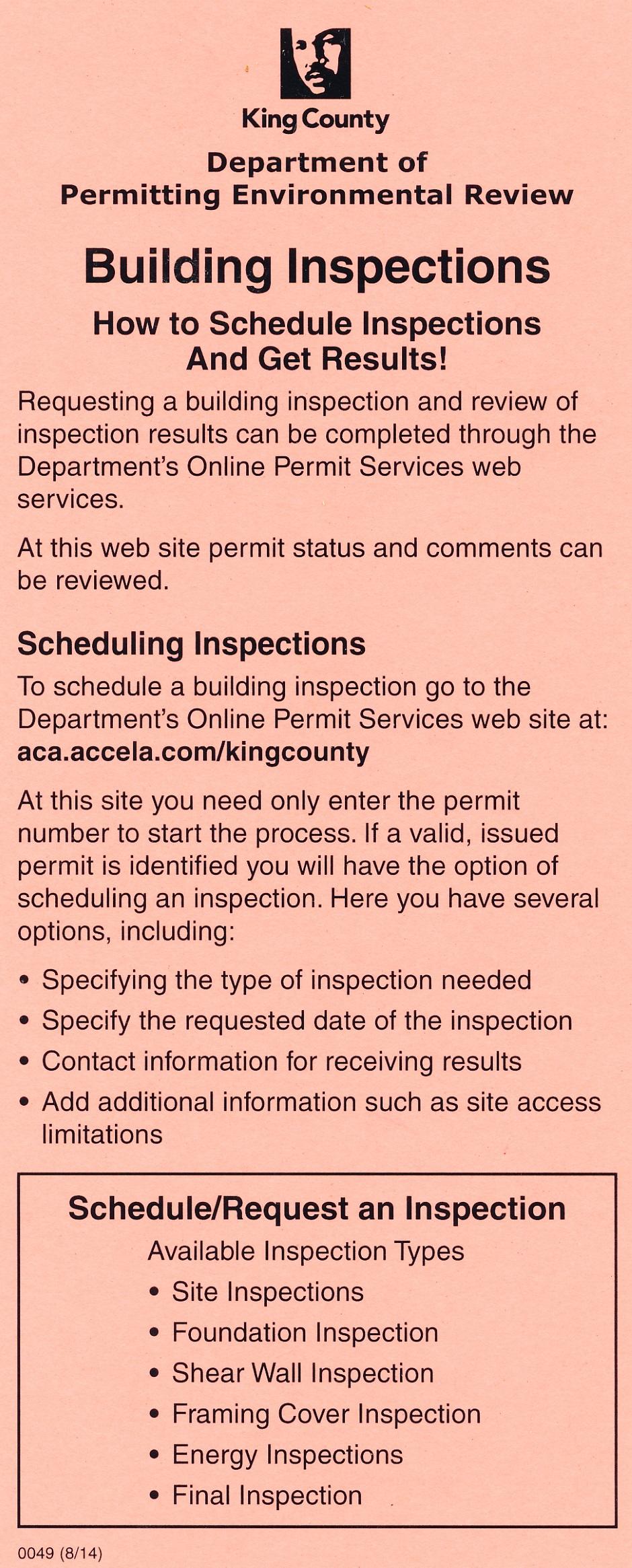 City Of Denver Building Permit Inspection