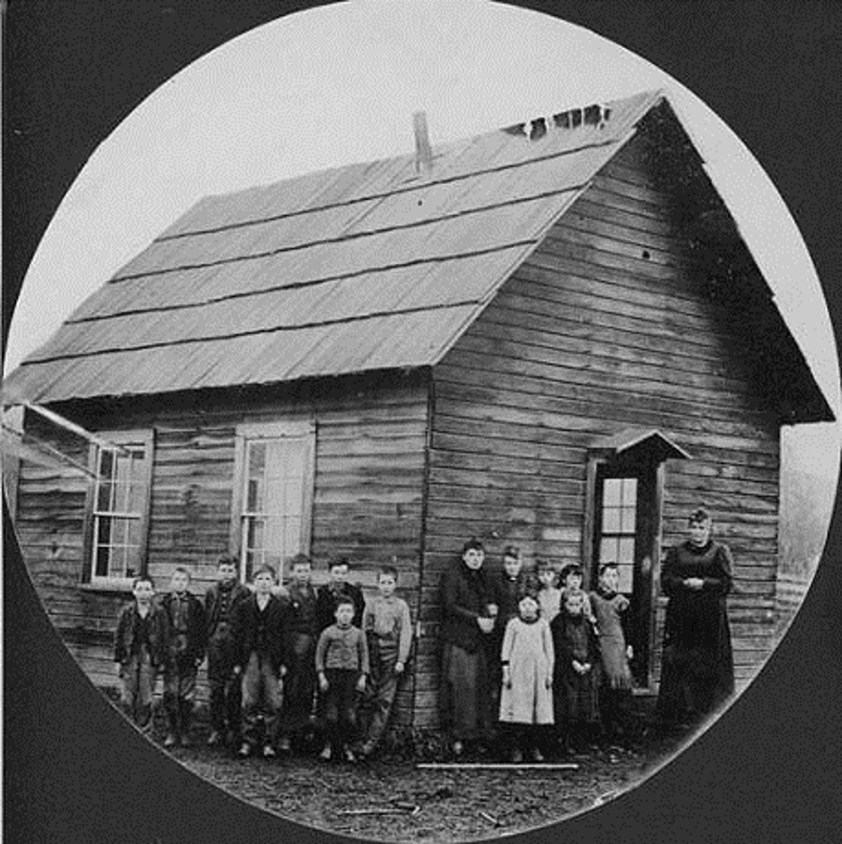 Carnation First Schoolhouse At Tolt 1890