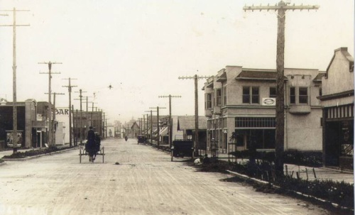 Carnation main street in 1912