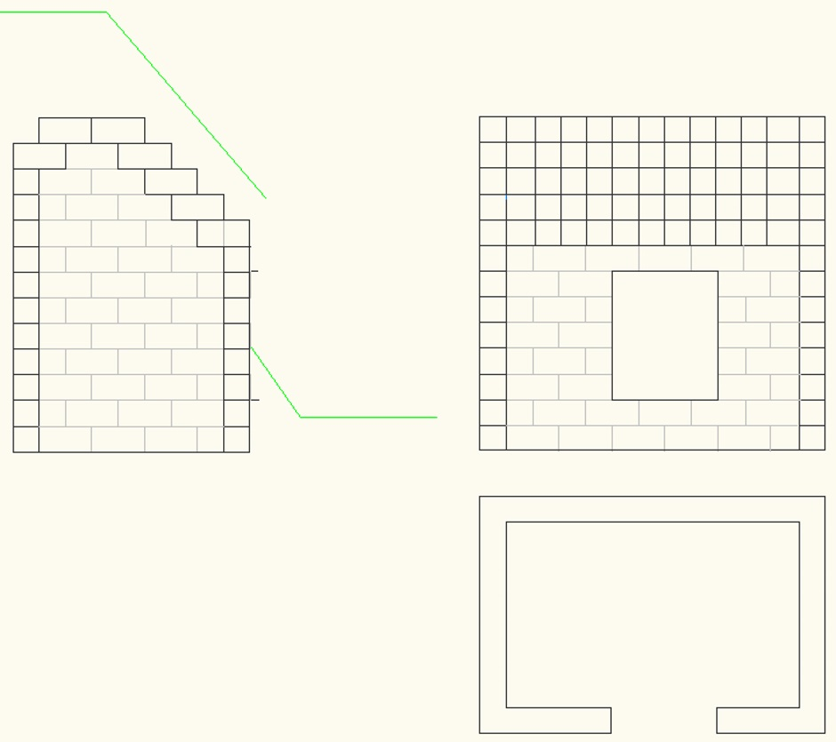Concrete Block Shed Drawing