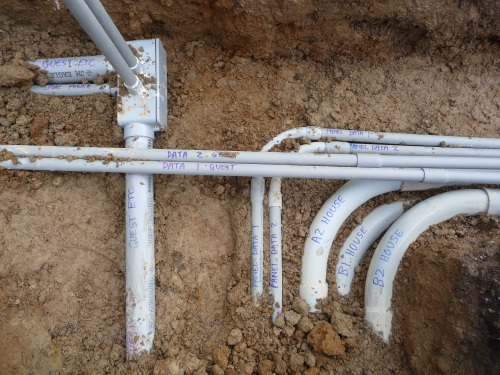 Label all the conduit