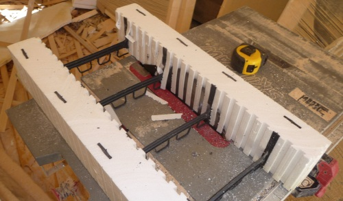 Cutting ICF on table saw