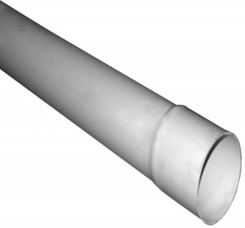 Drain Pipe Solid 4in