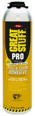 Foam Great Stuff Pro Wall Floor Adhesive