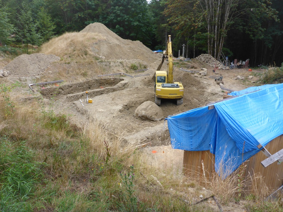Footing Excavation 304