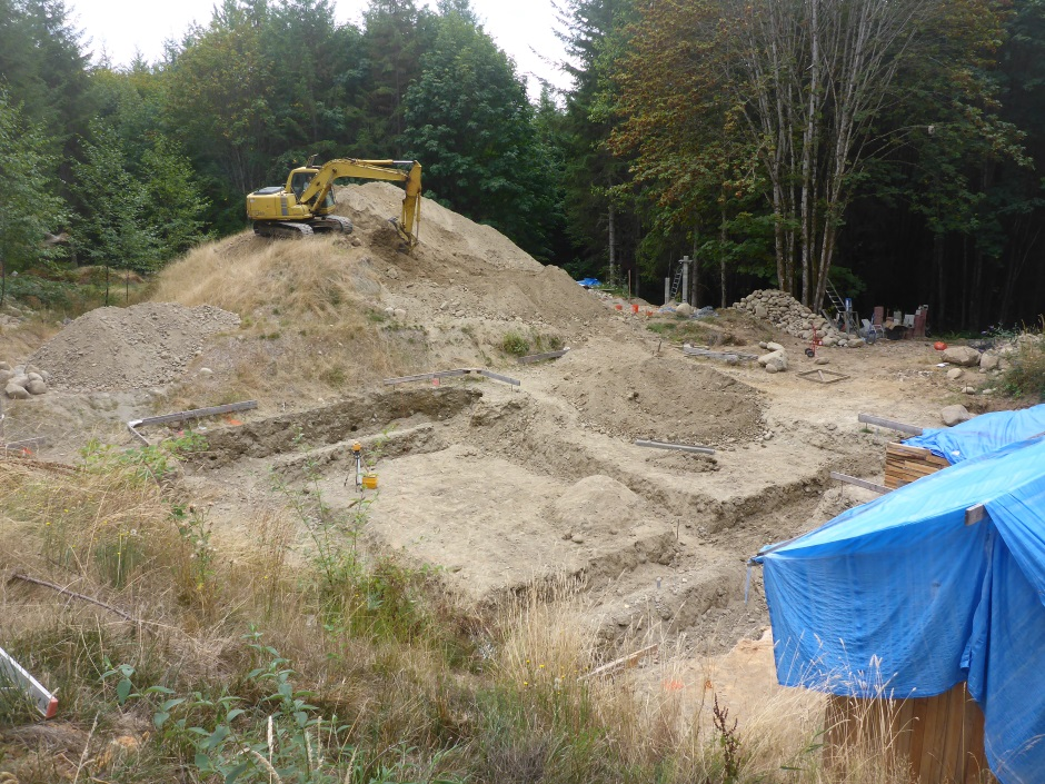 Footing Excavation 308