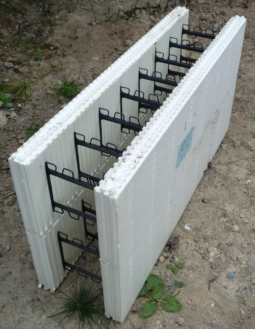 Greenblock ICF - two blocks