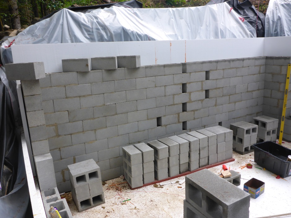 Greenhouse North Block Wall Blocks Waiting