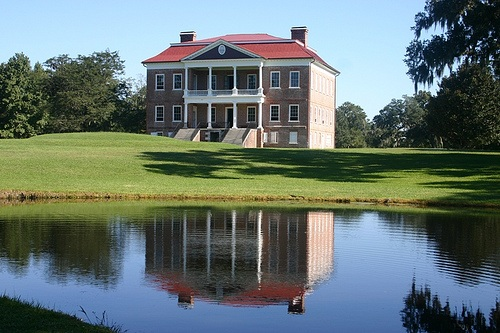 Drayton house with pond