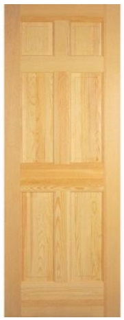 Interior Door 6 Panel HomeDepot