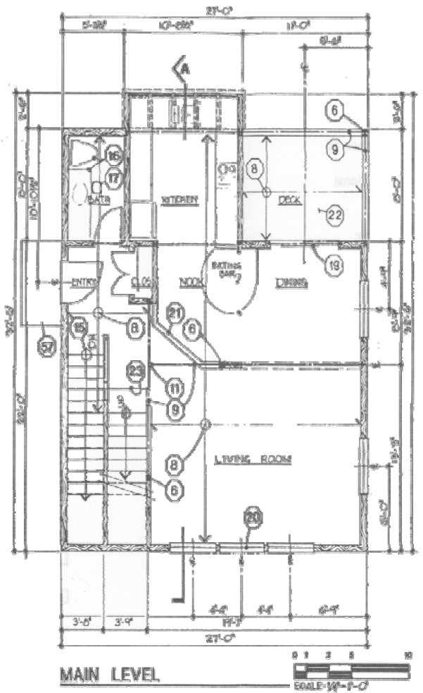 King County example floor plan main