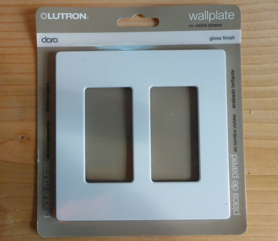 Lutron cover plate