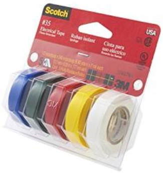 Marking Tape Colored Half Inch