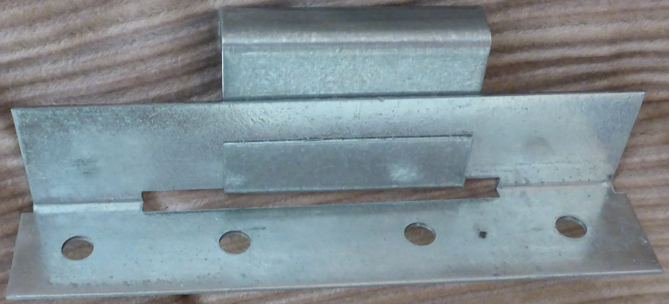 Metal Roof Crimp Hook Fixing Top View