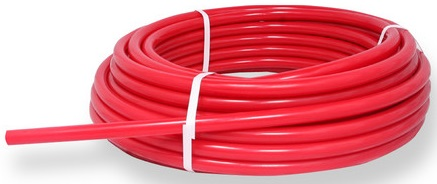 PEX pipe red half inch