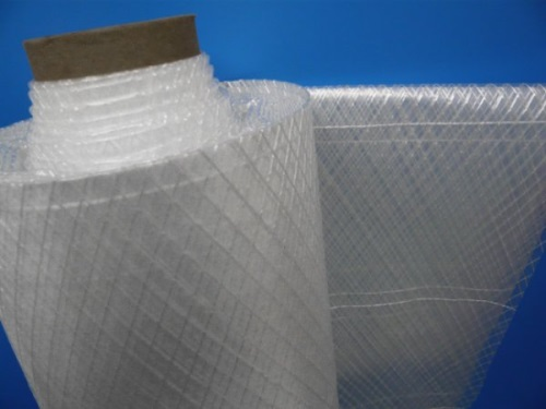 Polyethylene sheet reinforced wide