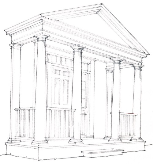 Portico single height