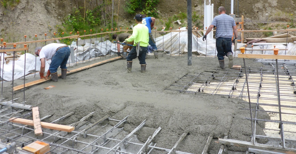 Pumping Leveling Slab Concrete East