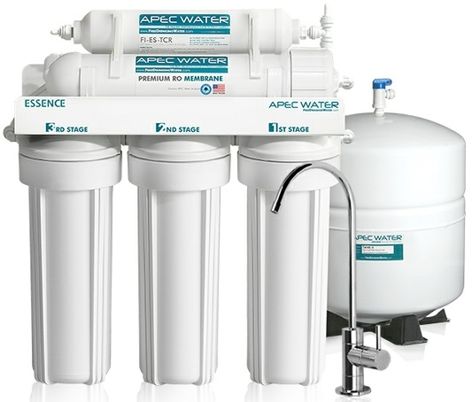 Reverse Osmosis Water Filter With Faucet