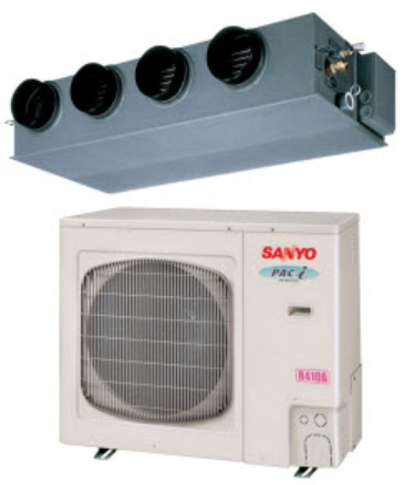 Sanyo air conditioner and heating heat pump