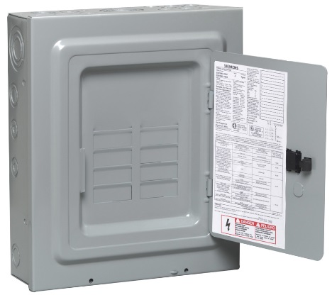 Siemens Breaker Box 8 Slot