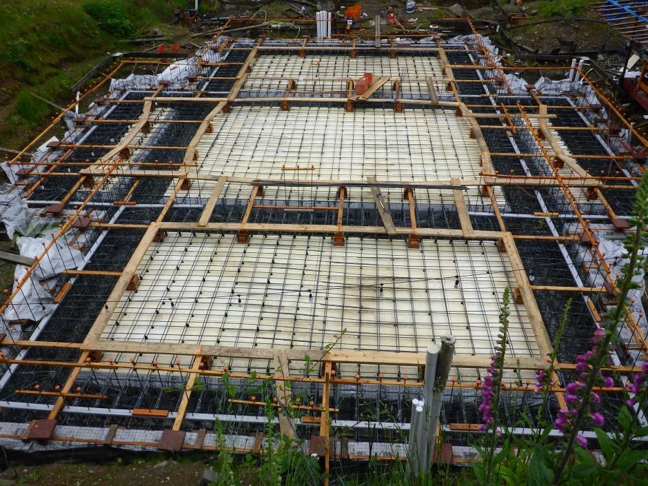 Site Almost Done With Slab Foundation Rebar