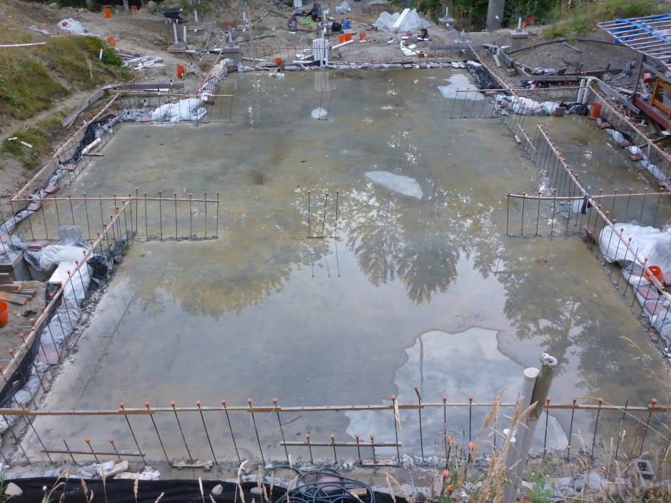Site Slab Drying End July 23
