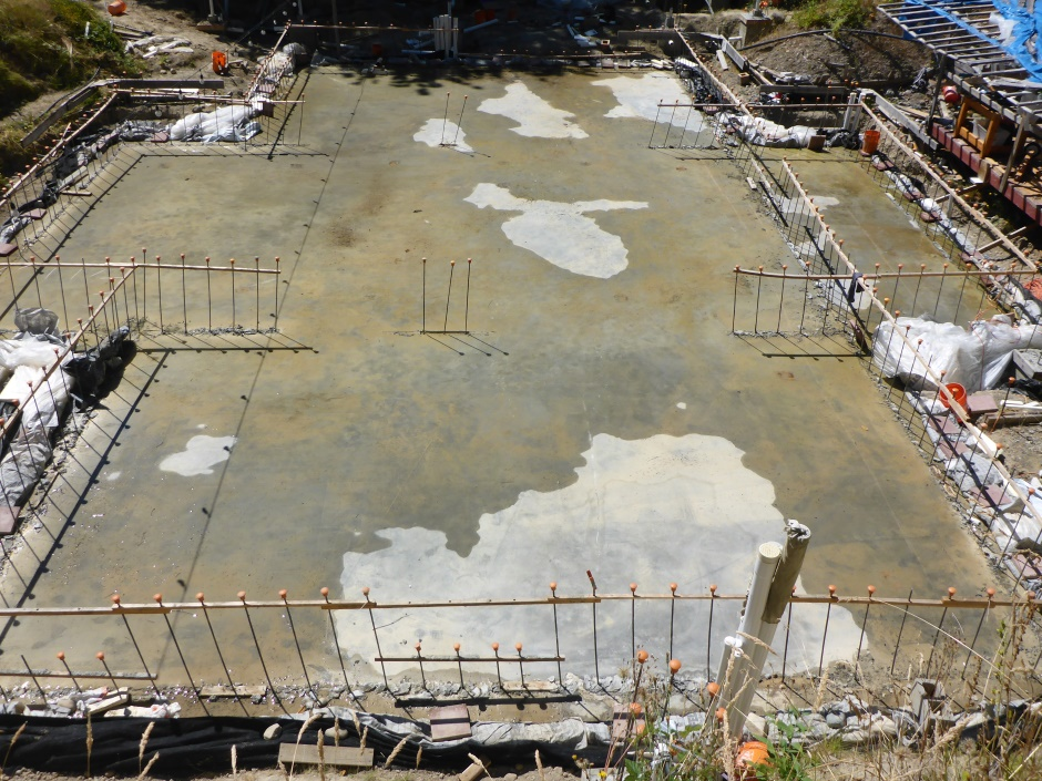 Site Slab Drying Mid July 25