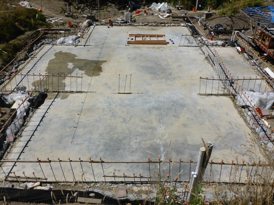 Site Slab Drying Start July 29