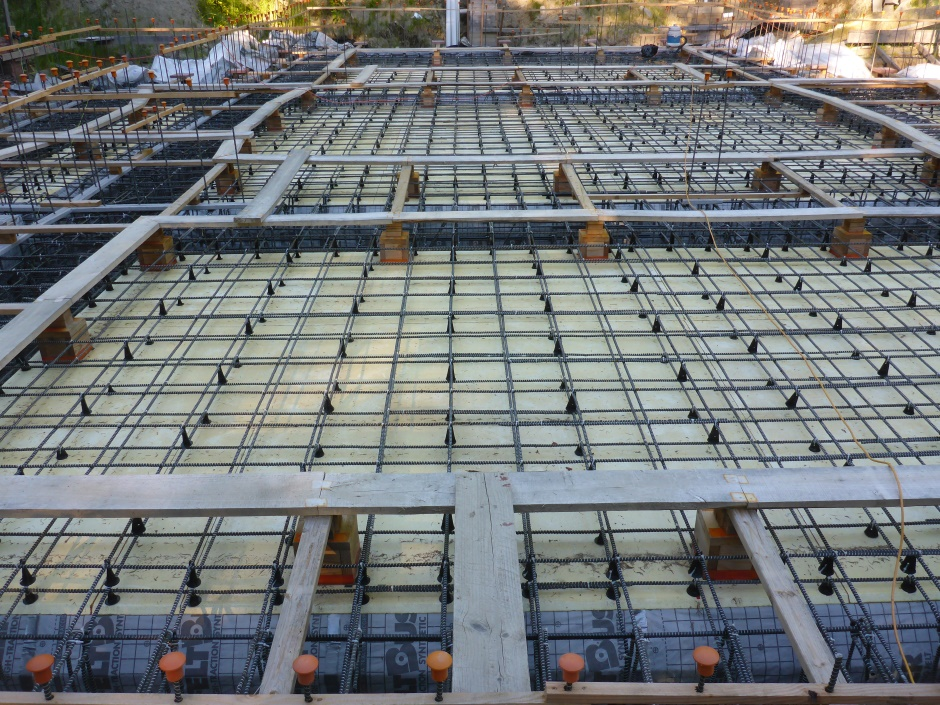 Slab Rebar Double Layer