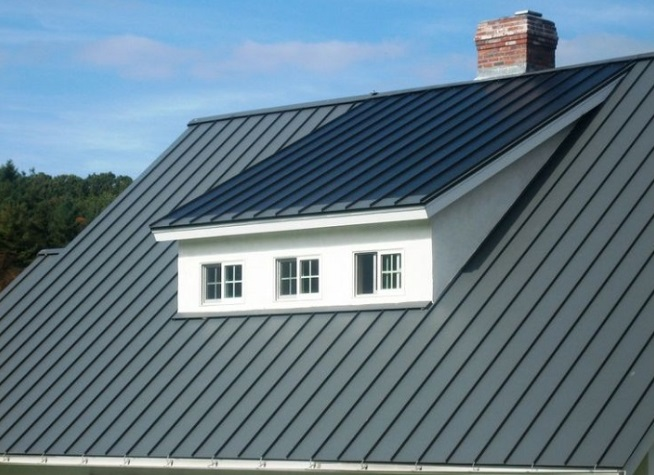 Solar Metal Seam Roof Uniform