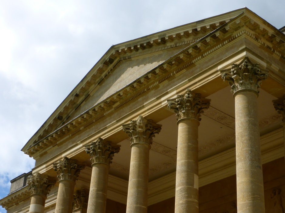 Stowe House Portico Top