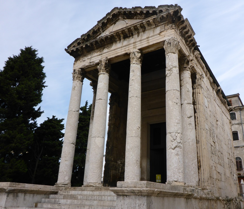 Temple Of Augustus in Pula