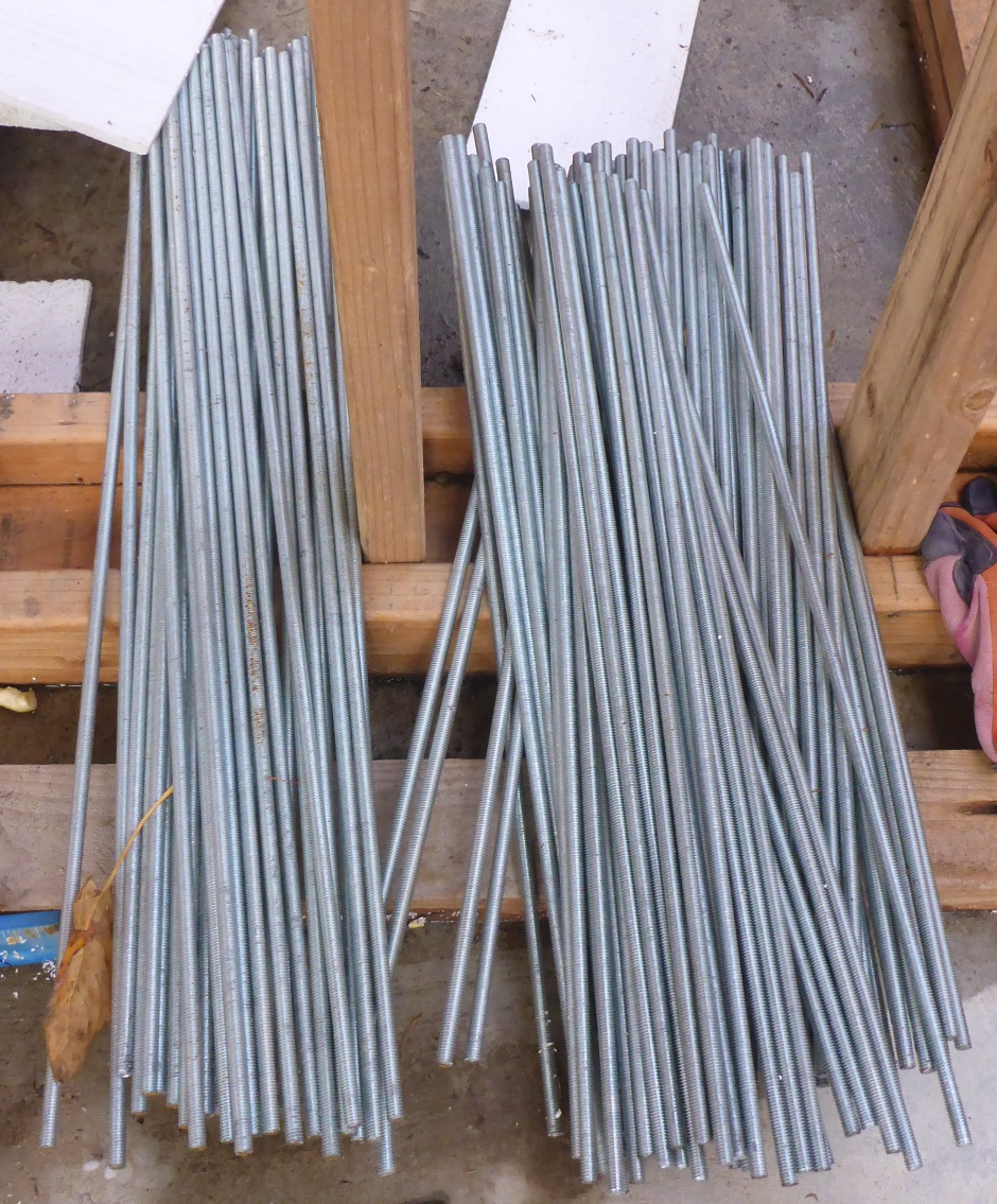 Threaded Rod Steel Cut To Length