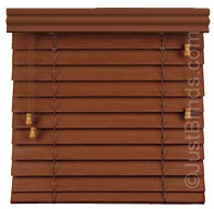 Window Blinds Cherry 2in
